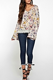 Lovestitch Floral Lace Blouse - Product Mini Image
