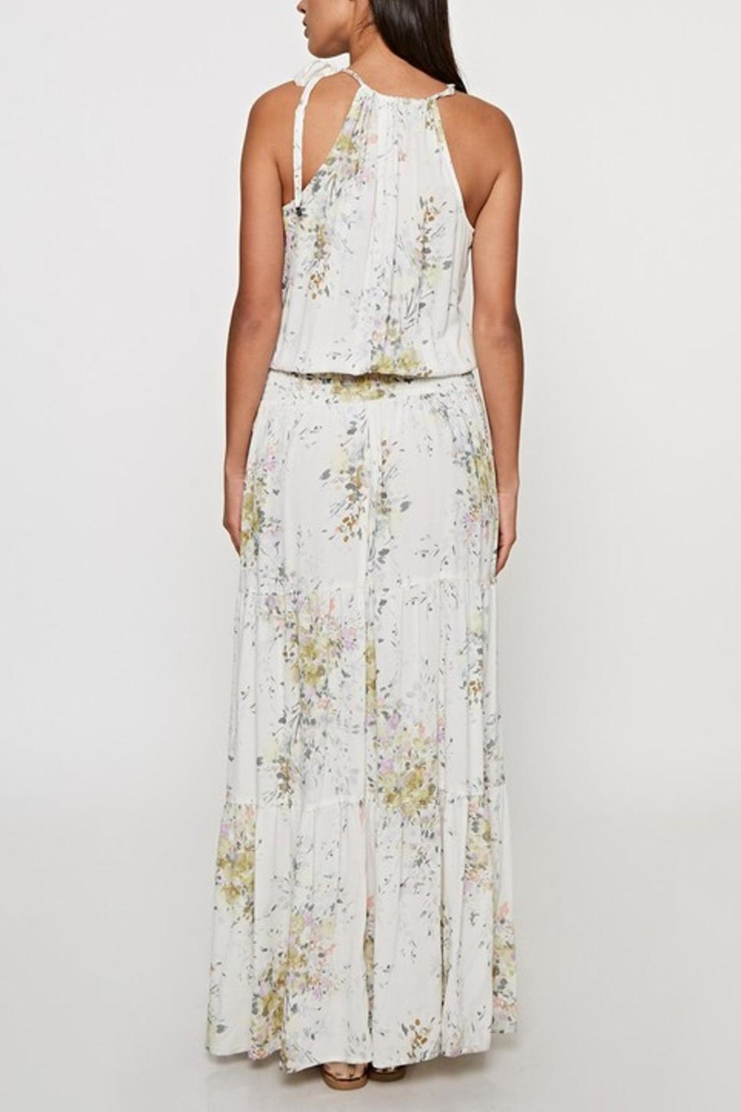 Lovestitch Floral Maxi Dress - Side Cropped Image