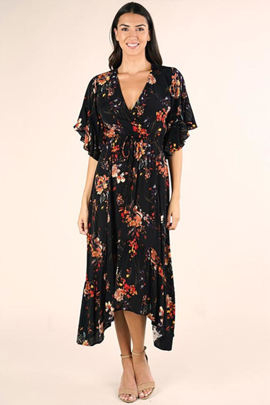 Lovestitch Floral Maxi Dress - Main Image