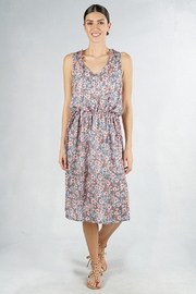 Lovestitch Floral Midi Dress - Product Mini Image