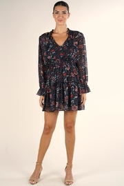 Lovestitch Floral Mini Dress - Product Mini Image
