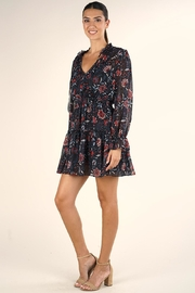 Lovestitch Floral Mini Dress - Front full body