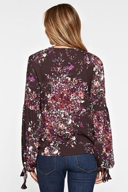Lovestitch Floral Print Long-Sleeve - Back cropped