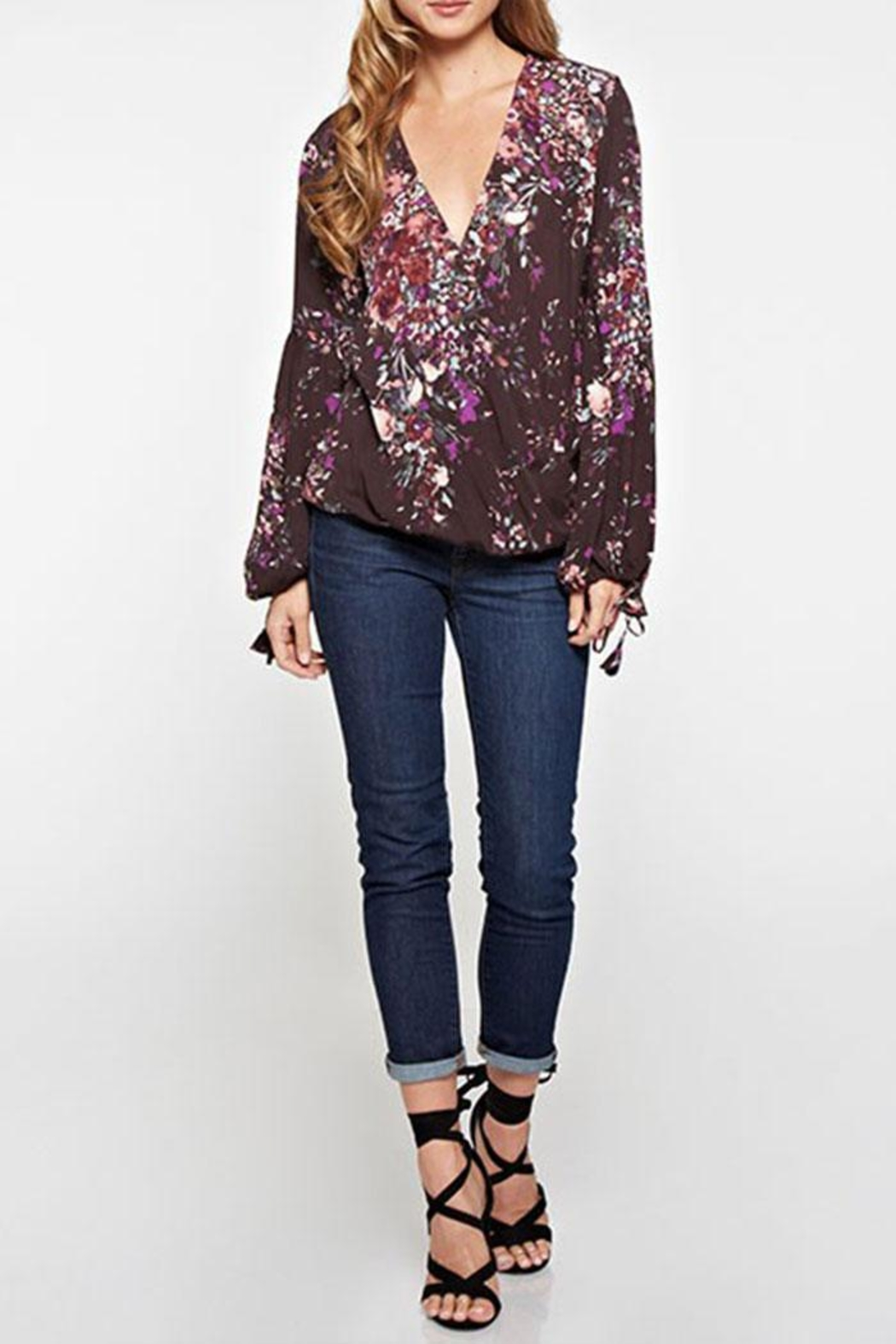 Lovestitch Floral Print Long-Sleeve - Main Image