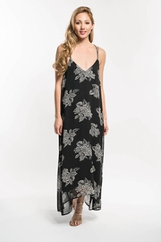 Lovestitch Floral Print Strappy Knot Back Maxi Dress - Product Mini Image