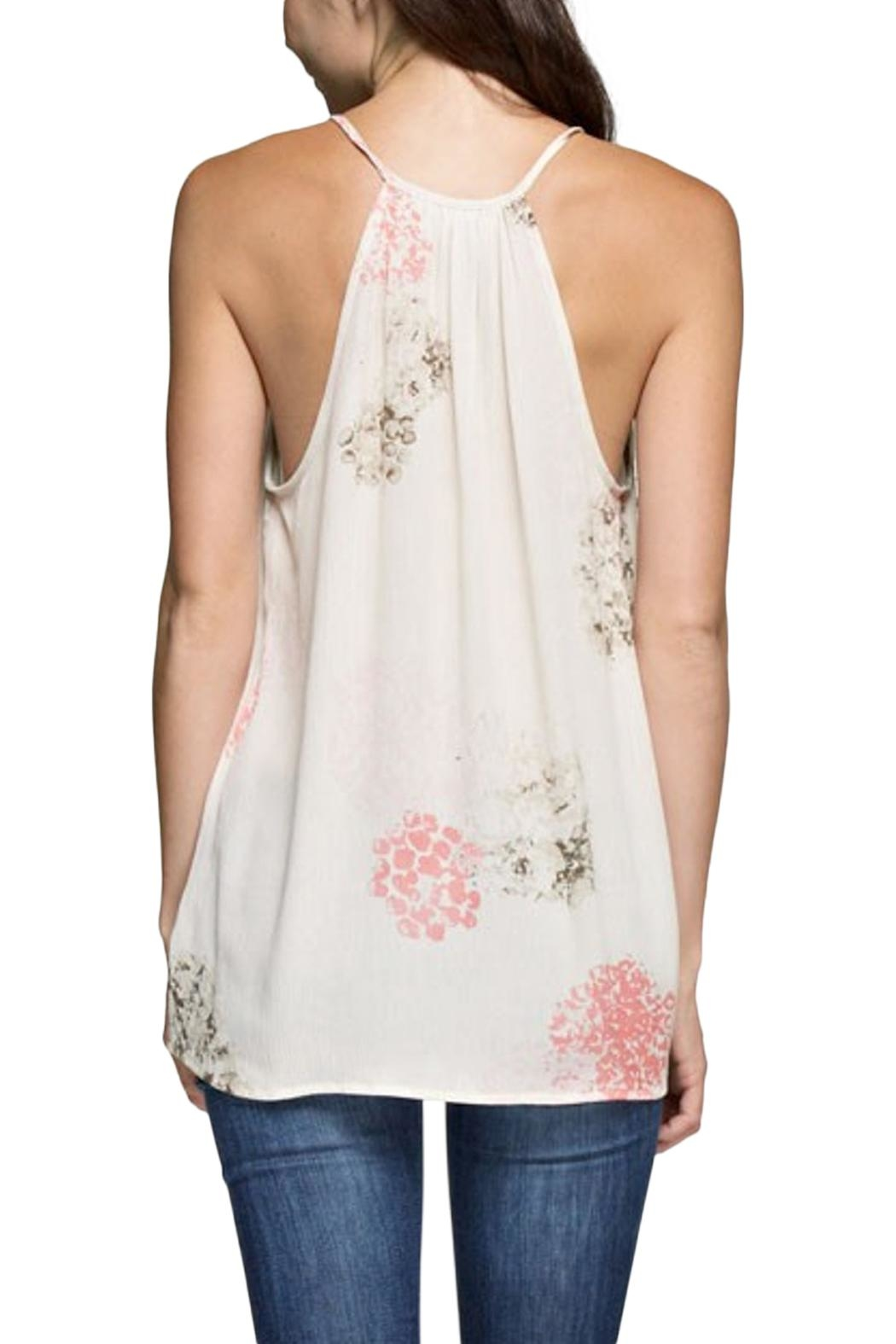 Lovestitch Floral Sleeveless Top - Front Full Image