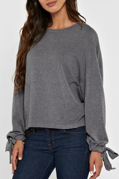 Shoptiques Product: Grey Pullover