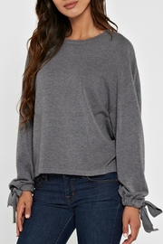 Lovestitch Grey Pullover - Product Mini Image