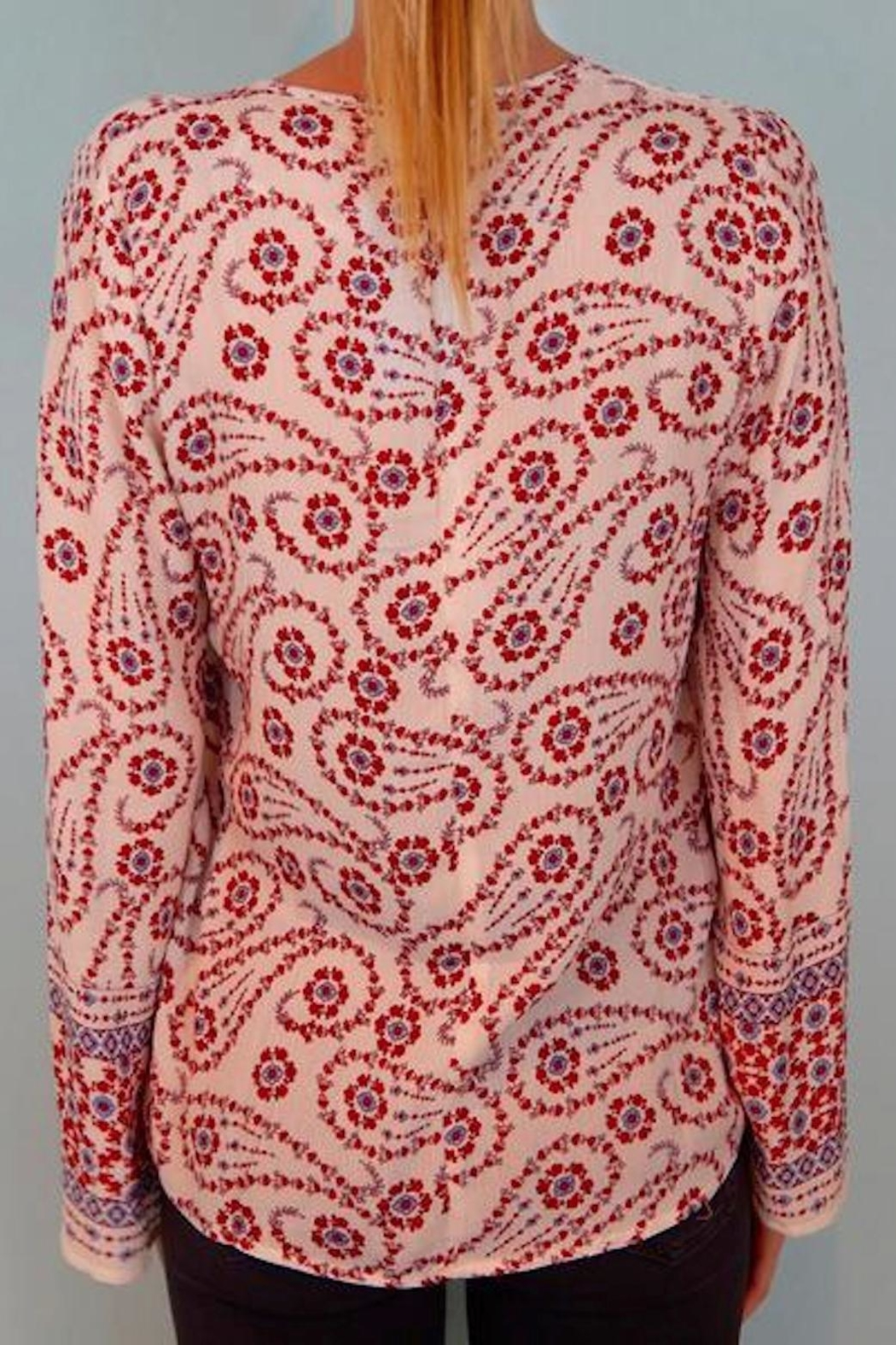 Lovestitch Gypsy Flower Top - Front Full Image