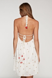 Lovestitch Halter Embroidered Dress - Side cropped