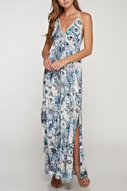 Lovestitch Halter Floral Maxi - Product Mini Image