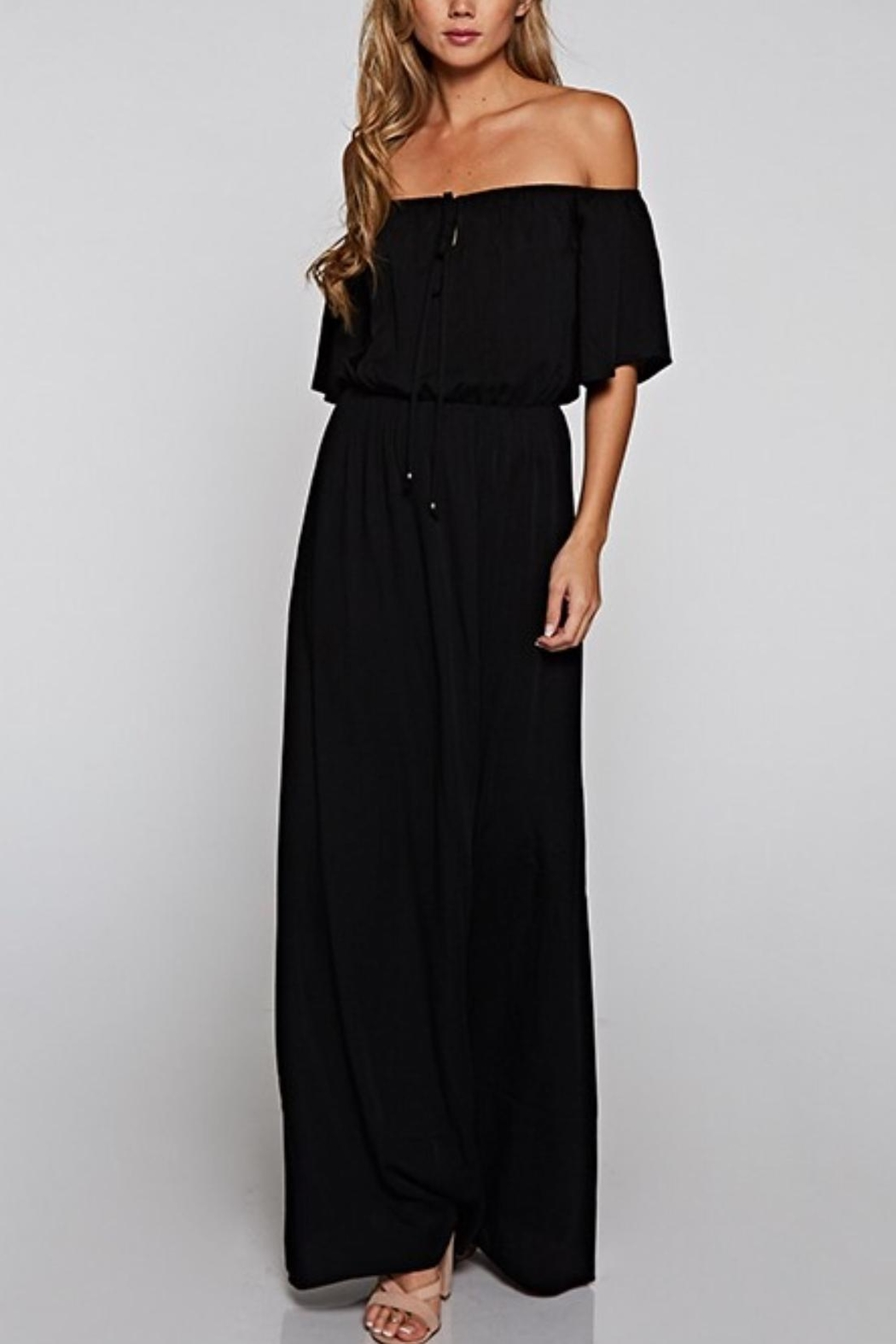 Lovestitch Halter Maxi - Side Cropped Image