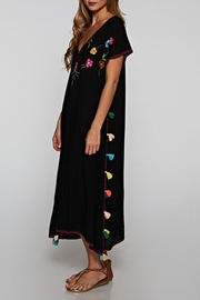 Lovestitch Hand Embroidered Kaftan - Back cropped