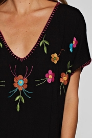 Lovestitch Hand Embroidered Kaftan - Side cropped