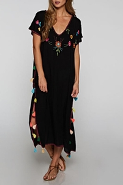 Lovestitch Hand Embroidered Kaftan - Front cropped