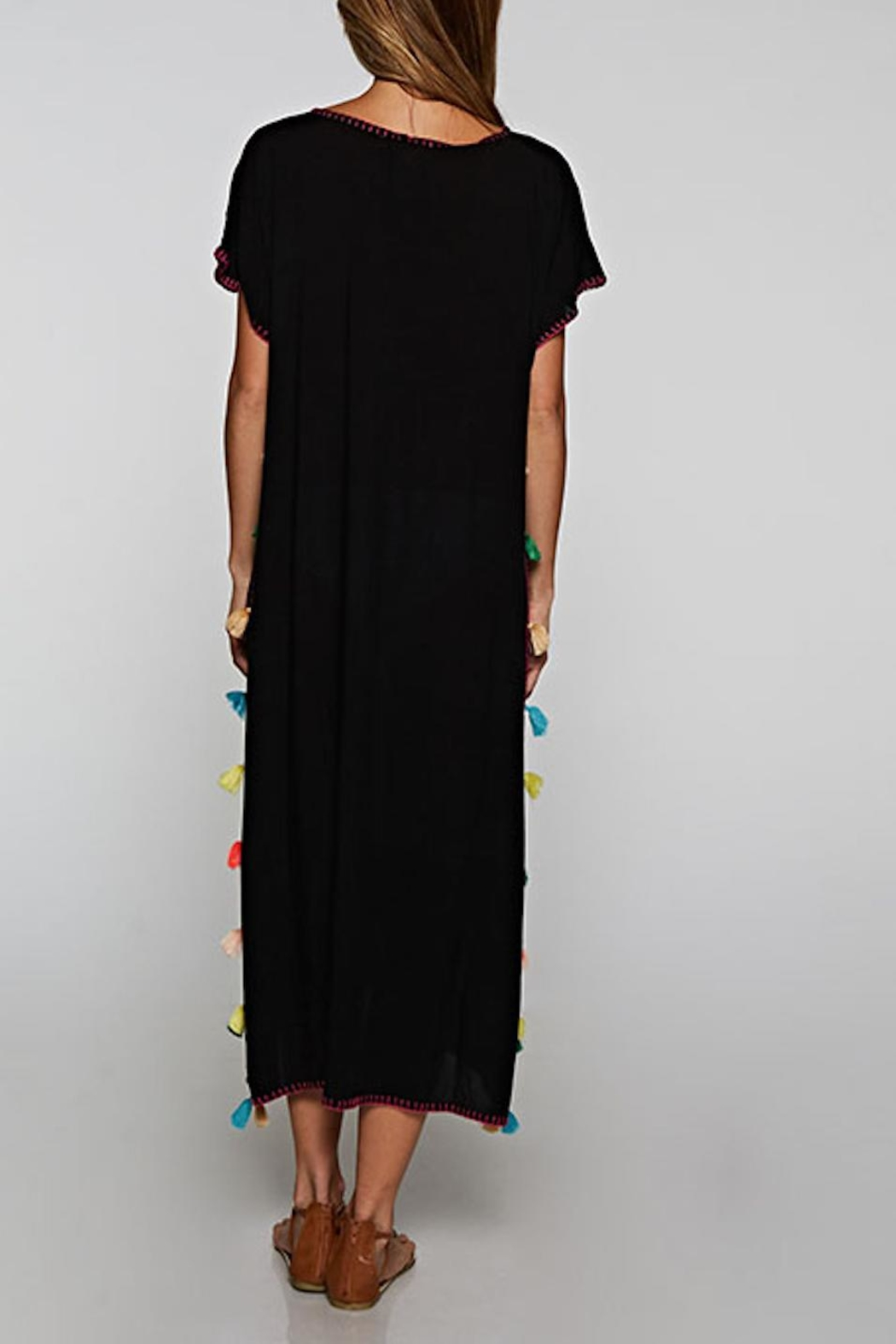 Lovestitch Hand Embroidered Kaftan - Front Full Image