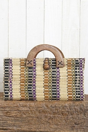 Lovestitch Hand Loomed Baguette Bag - Product Mini Image