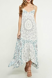 Lovestitch Handkerchief Maxi Dress - Front cropped