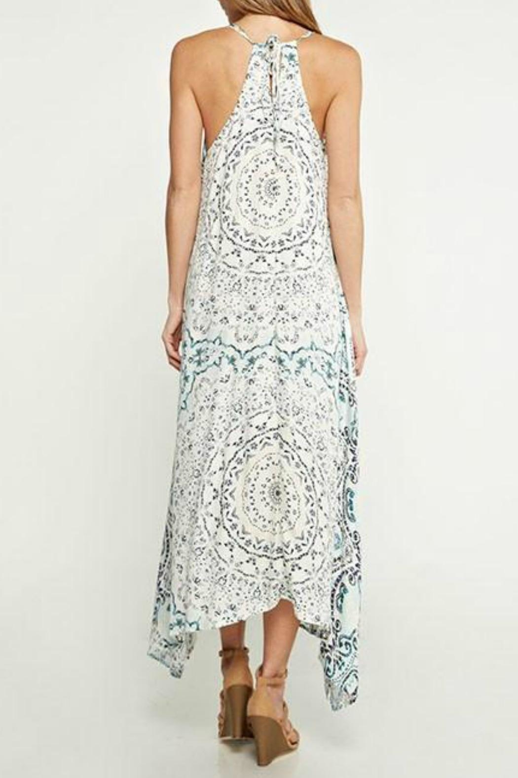 Lovestitch Handkerchief Maxi Dress - Front Full Image