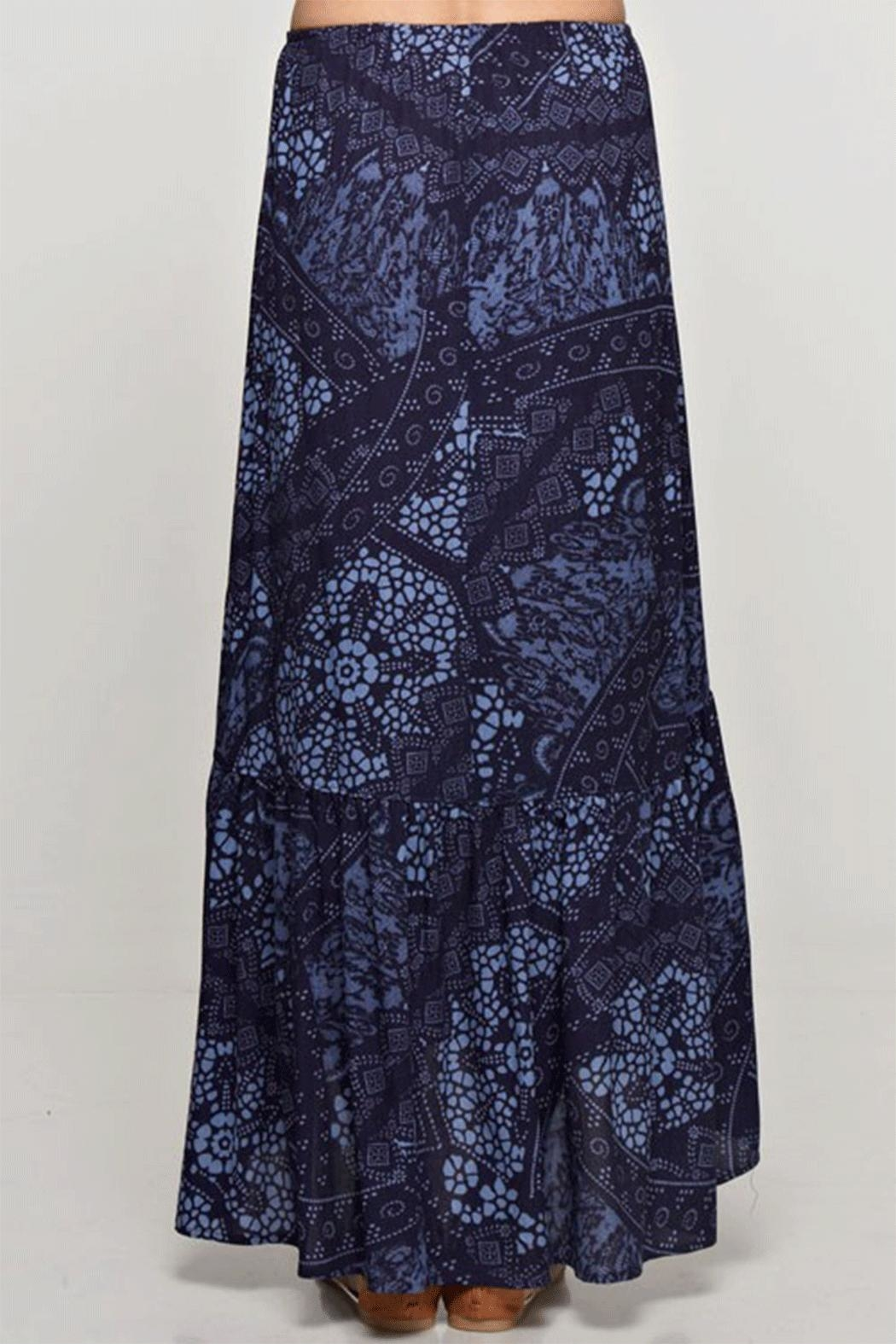 Lovestitch High-Low Maxi Skirt - Side Cropped Image