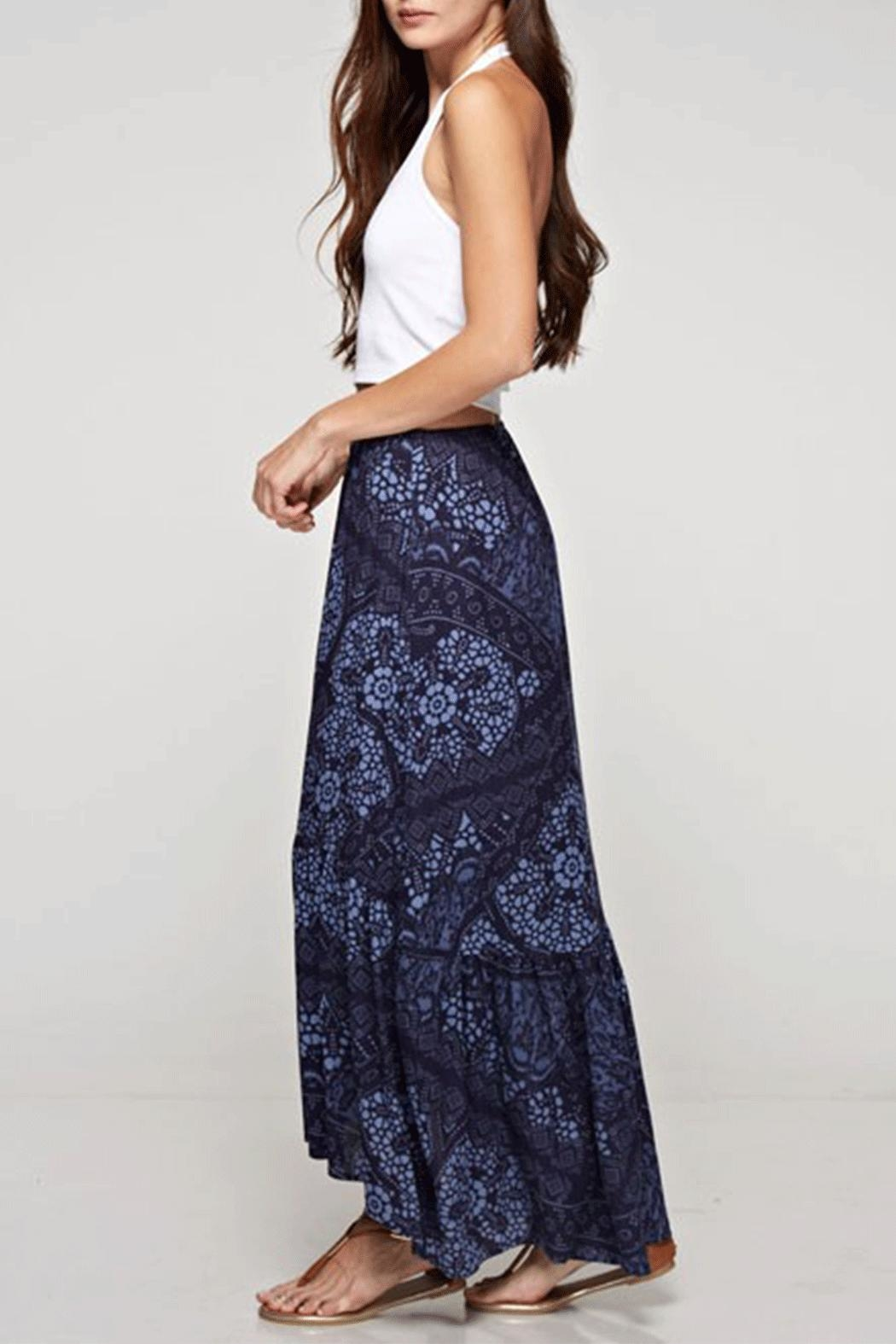 Lovestitch High-Low Maxi Skirt - Front Full Image