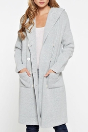 Lovestitch Hooded Cardigan - Front cropped