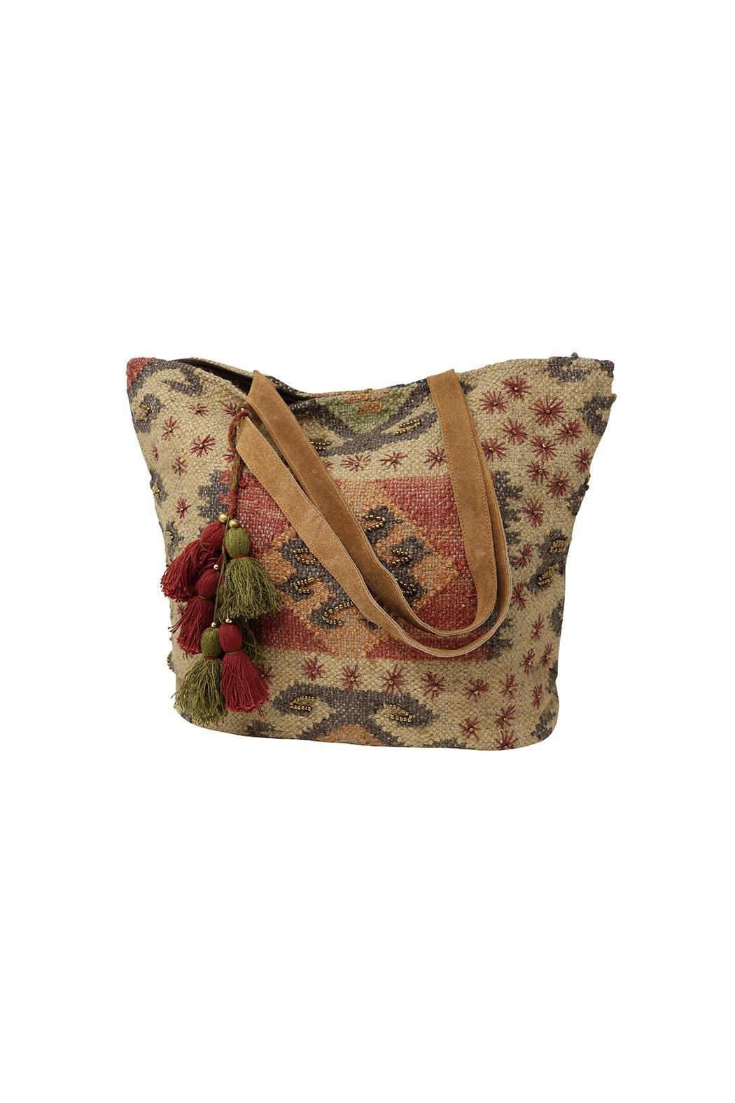 Lovestitch Indian Jute Tote - Main Image