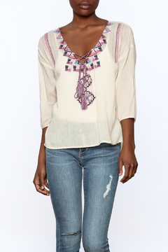 Lovestitch Ivory Lina Blouse - Product List Image