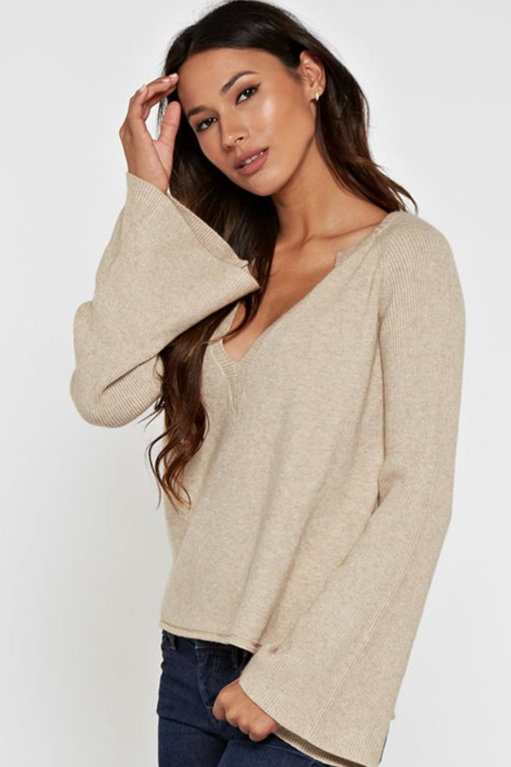 Lovestitch Kiana Sweater - Side Cropped Image