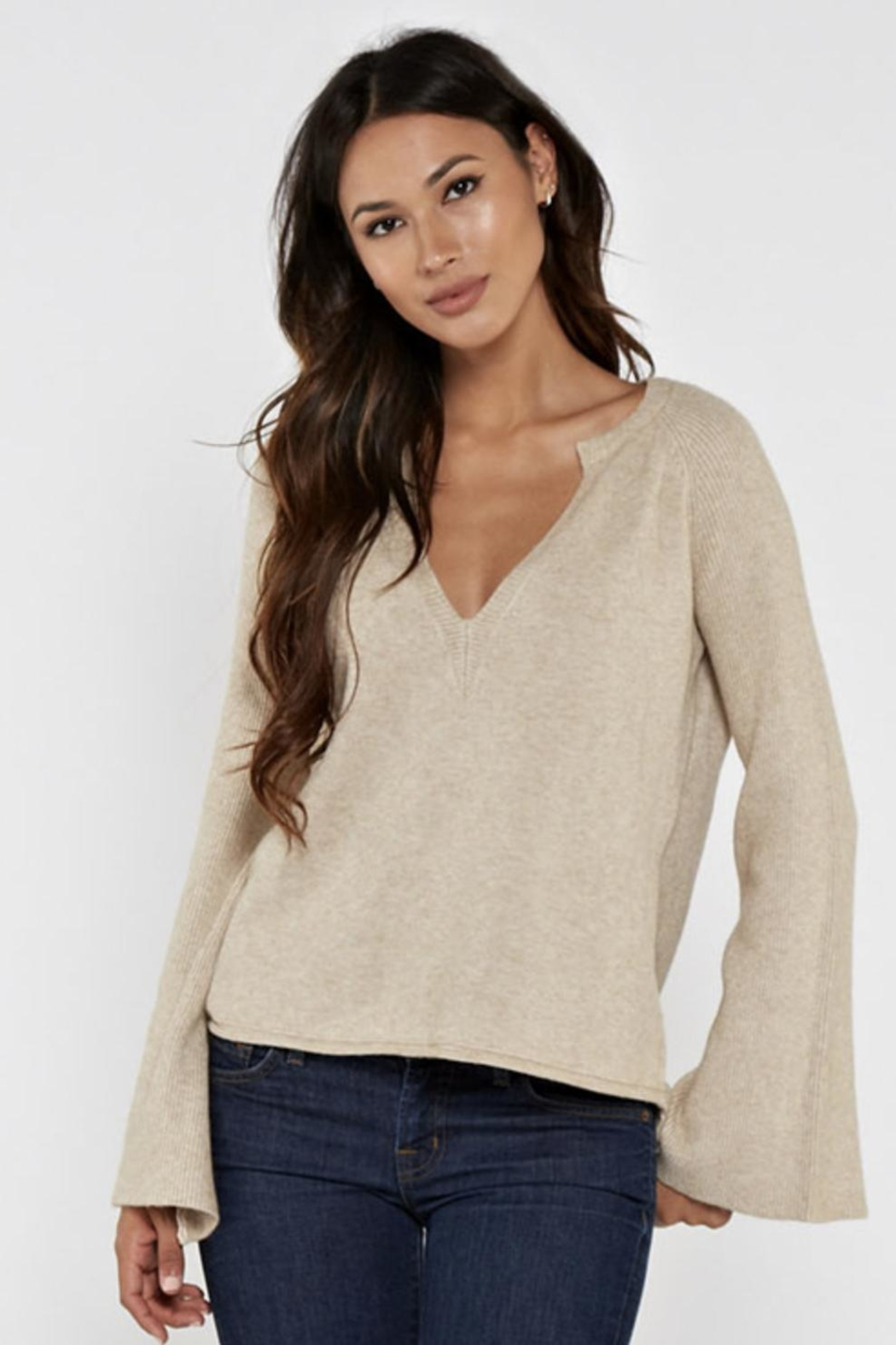 Lovestitch Kiana Sweater - Front Cropped Image