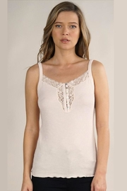 Lovestitch Knit Lace-Trimmed Cami - Product Mini Image