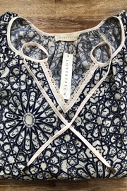 Lovestitch Lace Collar Blouse - Front full body