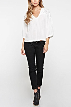 Lovestitch Lace Embroidered Top - Product List Image