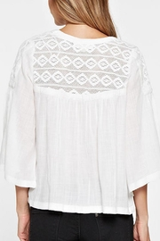 Lovestitch Lace Embroidered Top - Other