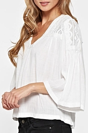 Lovestitch Lace Embroidered Top - Side cropped