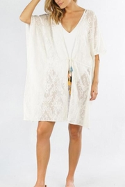 Lovestitch Lace Kimono Cover-Up - Product Mini Image
