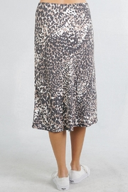 Lovestitch Leopard Midi Skirt - Side cropped