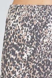 Lovestitch Leopard Midi Skirt - Back cropped