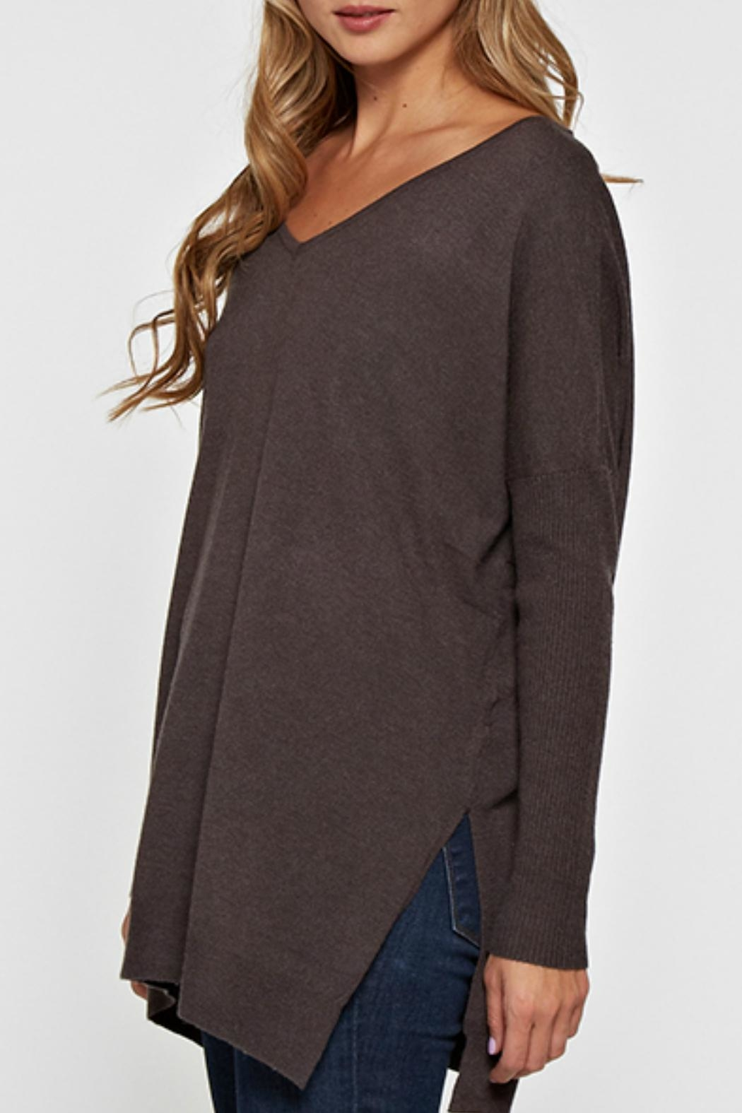 Lovestitch Lightweight Oversized Sweater - Front Full Image