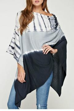 Shoptiques Product: Lightweight Tiedye Poncho