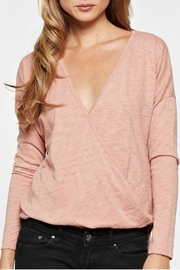 Lovestitch Long Sleep Wrap Top - Product Mini Image