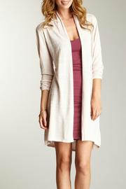 Shoptiques Product: Long Striped Cardigan