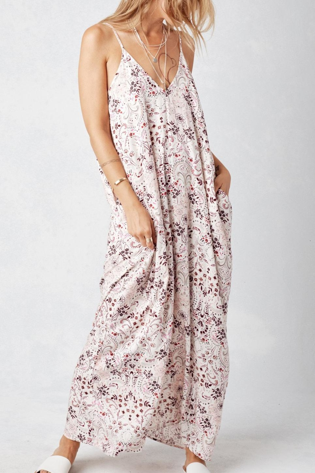 Lovestitch Madeline Mila Maxi Dress - Front Cropped Image