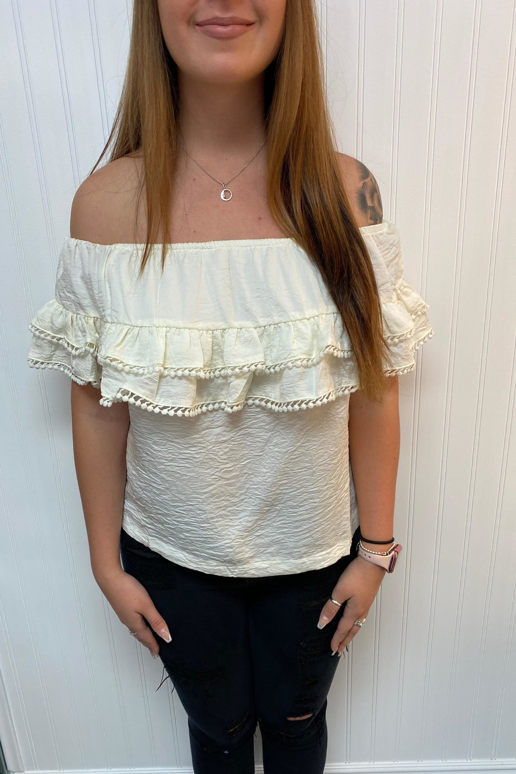 Lovestitch Off Shoulder Blouse - Main Image