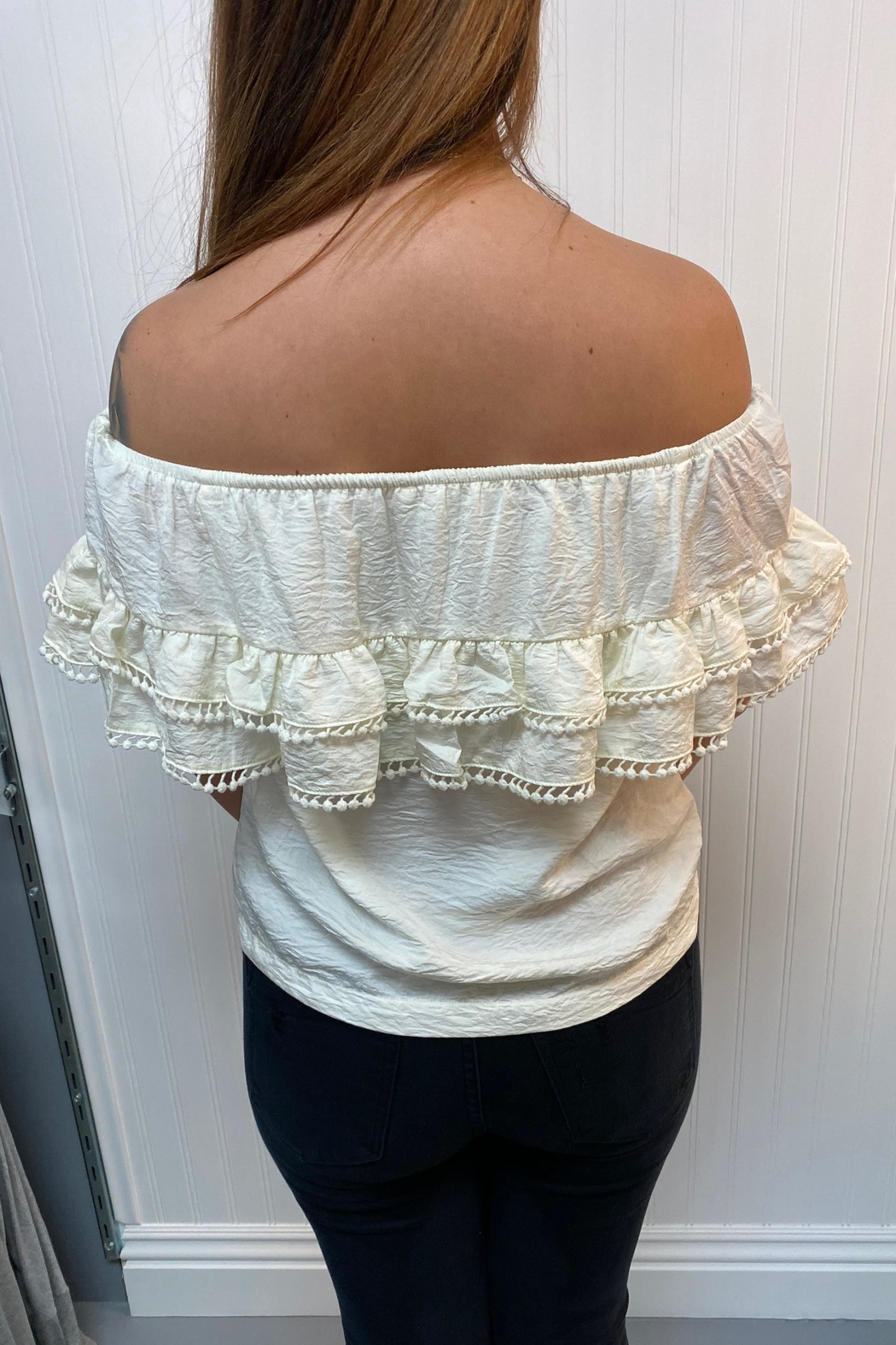 Lovestitch Off Shoulder Blouse - Front Full Image
