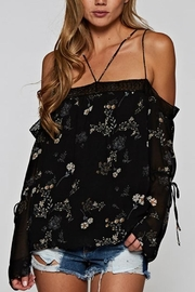 Lovestitch Off-Shoulder Floral Top - Product Mini Image