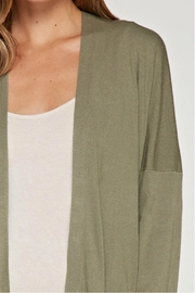 Lovestitch Open Cardigan - Back cropped