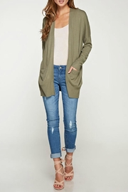 Lovestitch Open Cardigan - Front cropped