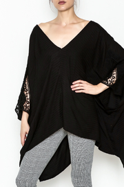 Lovestitch Oversize Dolman Tunic - Front cropped