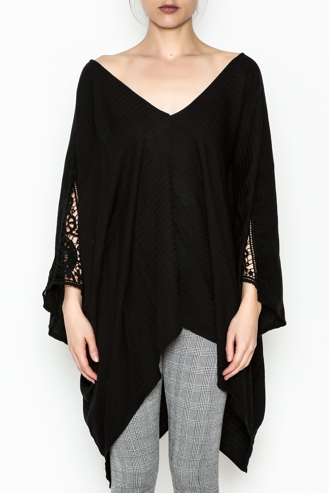 Lovestitch Oversize Dolman Tunic - Front Full Image
